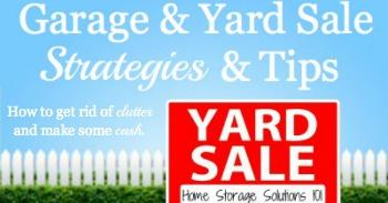 Garage & Yard Sale Strategies & Tips