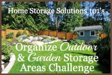 Organize Garden Storage Supplies