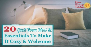 20 guest room ideas and essentials to make it cozy and welcome