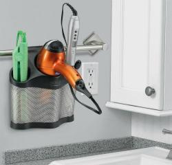 wall hair dryer holder