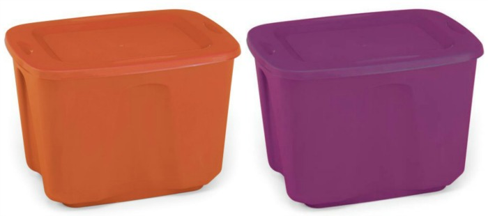 Halloween Plastic Storage Bins Store Your Halloween Decorations In