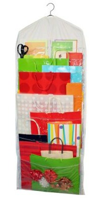 Click to buy hanging gift bag organizer