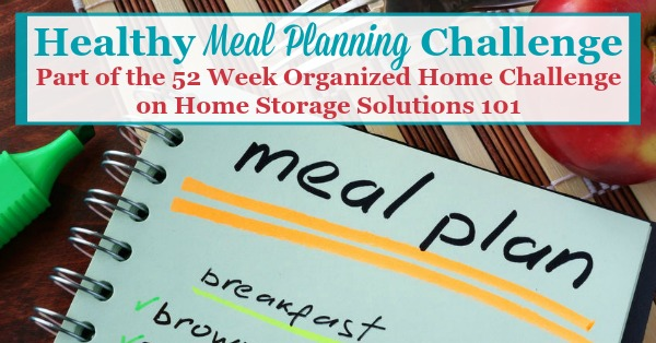 Healthy Meal Planning  Creating Grocery Shopping List How To Get