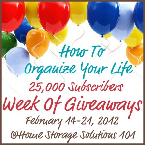 help each of you organize your home, life and everything else at the