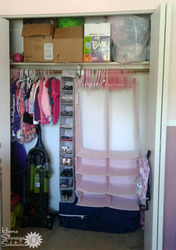 How To Get Rid Of Kids Closet Clutter