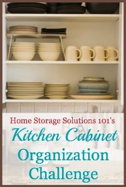 Kitchen Cabinet Organization | Kevin & Amanda