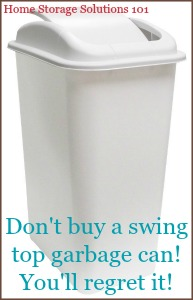 Kitchen Garbage Cans: Pros & Cons Of The Varieties