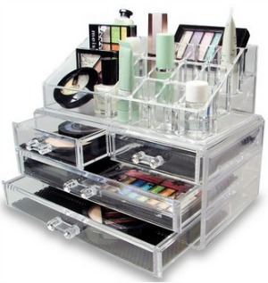 makeup organizer drawers