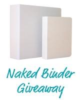 Naked Binder Giveaway