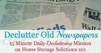 Declutter socks, a Declutter 365 daily mission