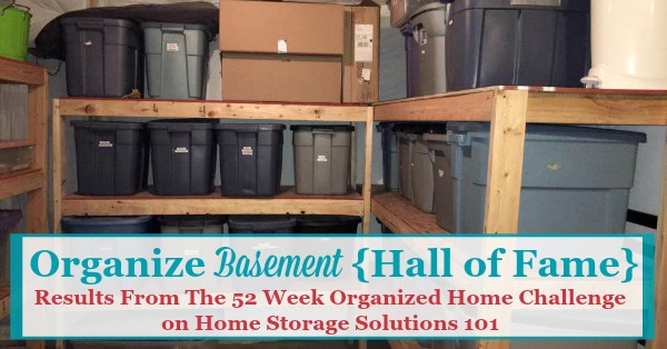 Here Are Real Life Ideas For How To Organize Your Basement, And Basement  Storage Solutions ...