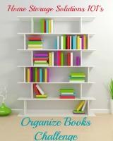 organize books challenge