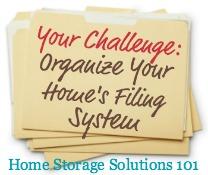 organize files challenge
