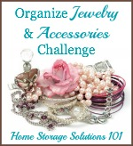 Organize Jewelry & Accessories Challenge