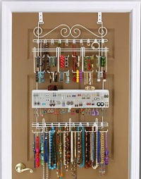 How to organize jewelry other accessories - Colgador de collares ikea ...