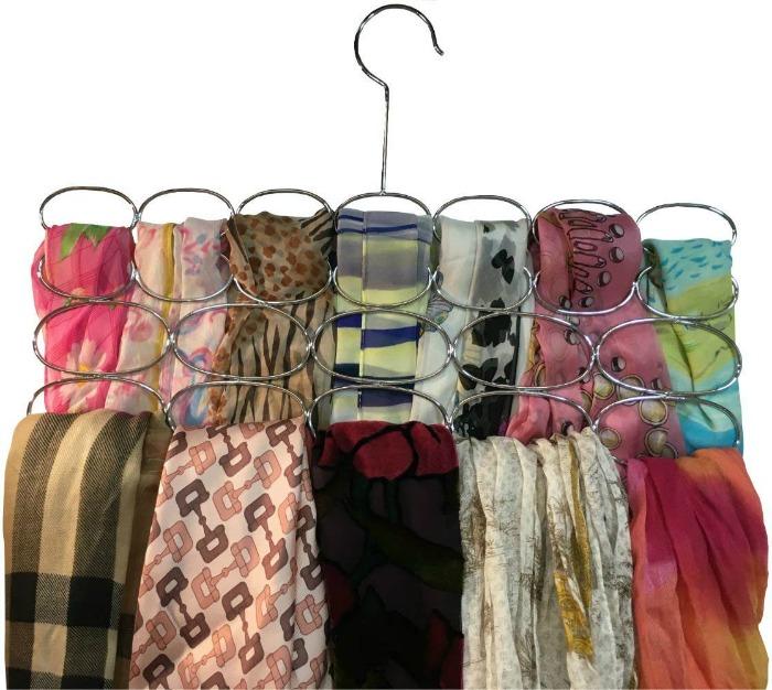 scarf organizer hanger