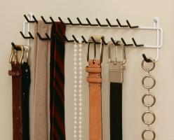 closetmaid tie and belt rack