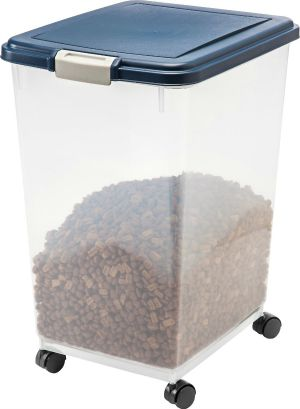 IRIS airtight pet food storage container