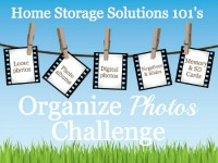 How To Organize Photos {Organizing Challenge}