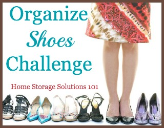 Organize Shoes Challenge
