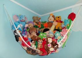 Step 4: Choose Kid Friendly Toy Storage Solutions. Stuffed Animal Net