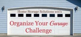 Garage organization challenge