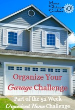 Organize Your Garage Challenge