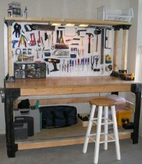 garage workbench - Organize Garage