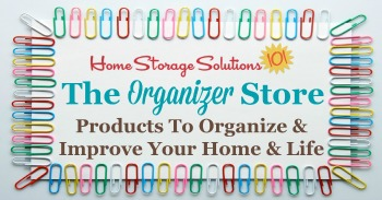 Products To Organize & Improve Your Home