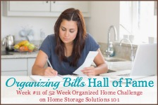 organizing bills hall of fame