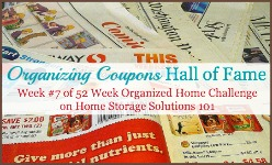 organizing coupons hall of fame