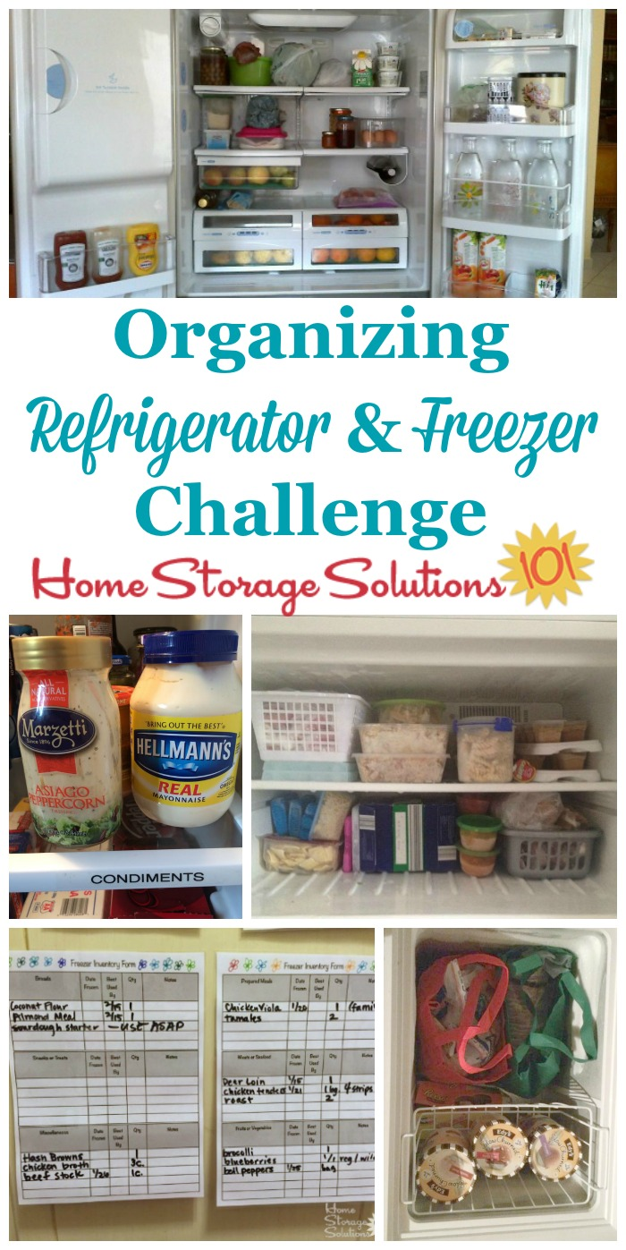 Fabulous Organizing Refrigerator And Freezer Challenge: Step By Step  VL11