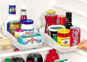 refrigerator pull out caddies