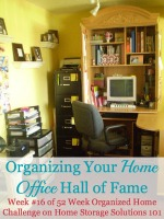 organizing your home office hall of fame