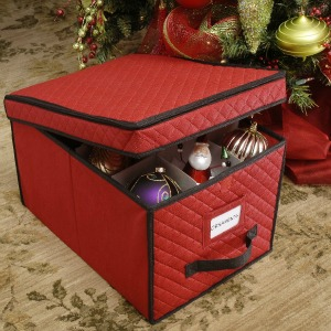click to buy this christmas ornament storage box - Christmas Decoration Storage Containers