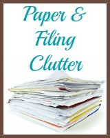 paper  and filing clutter