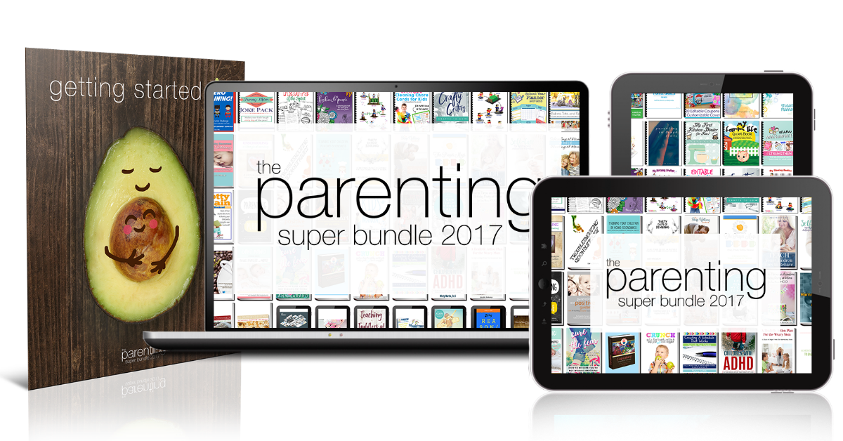 The Parenting Super Bundle has 80 resources to help you with the toughest and most rewarding job you'll ever have, parenting, including printables, eBooks and eCourses that are worth more than $1,200. It's one of the closest things to an instruction manual for parenting you can find {more information on Home Storage Solutions 101}
