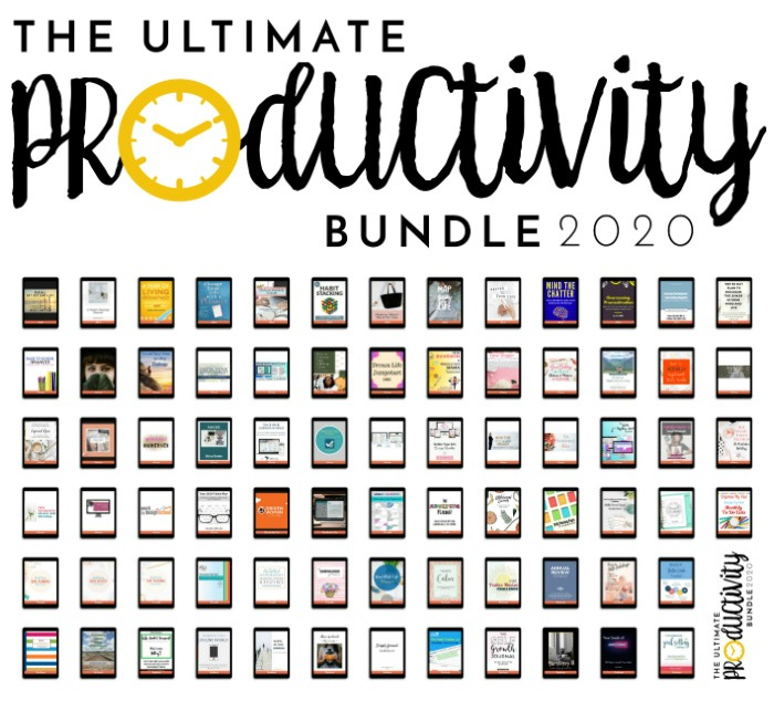 All of the products in the 2020 Ultimate Productivity Bundle