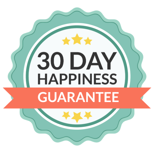 30 Day Happiness Guarantee on the 2021 Ultimate Productivity Bundle