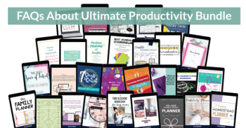 FAQs about the Ultimate Productivity Bundle