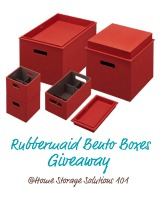 Rubbermaid bento boxes