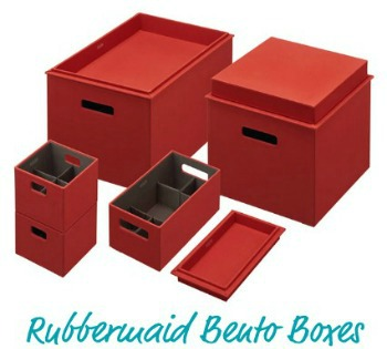 Lovely Rubbermaid Bento Boxes