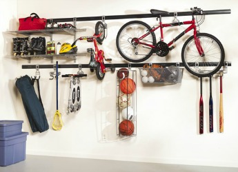 Rubbermaid Fast Track Garage Wall Storage System