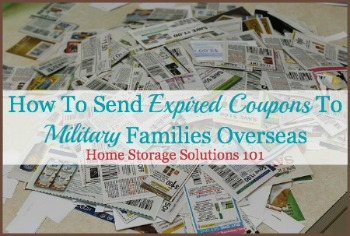 The troops want you…to send them expired coupons!