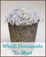 which documents to shred