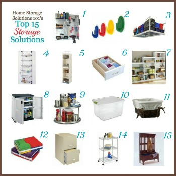 Top 15 Home Storage Solutions