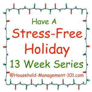 stress free holidays series