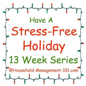 stress free holidays series