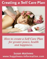 Creating a self care plan ebook cover