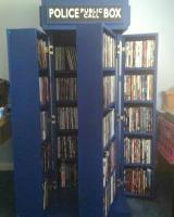 Tardis DVD storage idea